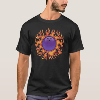 Camiseta Bola-o-Fogo da boliche