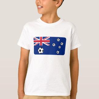Camiseta Bolas de futebol australianas da bandeira
