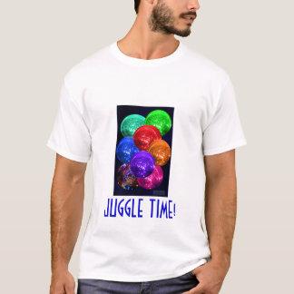 Camiseta Bolas de néon do espaço de Cyrstal