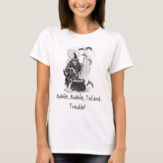 Camiseta Bolha, bolha, labuta e problema!