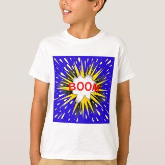 Camiseta Bolha dos desenhos animados do crescimento
