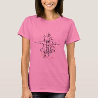 Camiseta bolhas pequenas de buddha