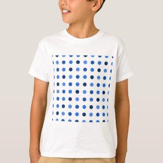 Camiseta Bolinhas azuis