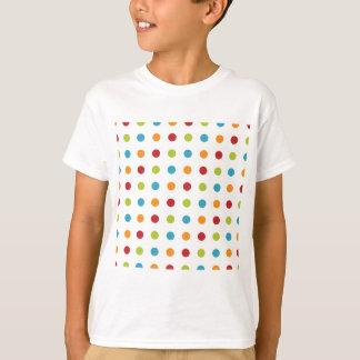 Camiseta Bolinhas coloridos