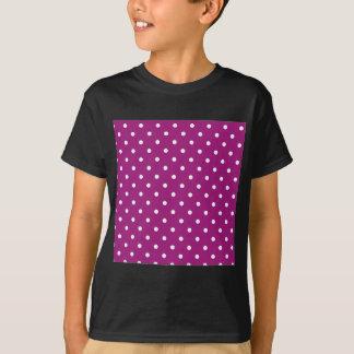 Camiseta Bolinhas cor-de-rosa