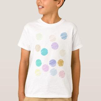 Camiseta Bolinhas da aguarela