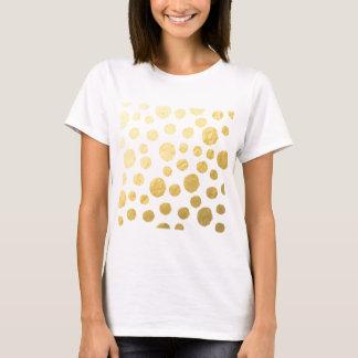Camiseta Bolinhas do ouro