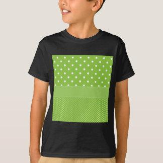 Camiseta Bolinhas verdes
