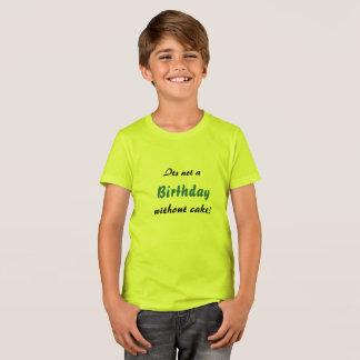Camiseta Bolo de aniversário!