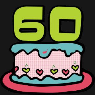 Camisas Camisetas Aniversário 60 Anos Zazzlecombr