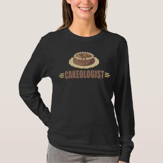 Camiseta Bolo de chocolate engraçado