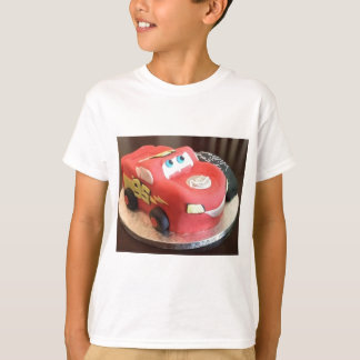 Camiseta Bolo do carro de McQueen