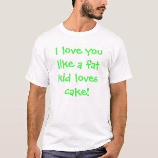 Camiseta bolo gordo