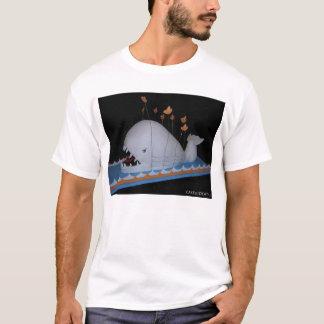 Camiseta Bolo irritado da baleia da falha