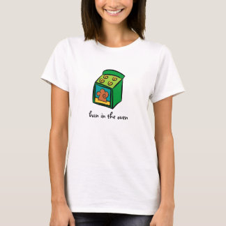 Camiseta Bolo no forno