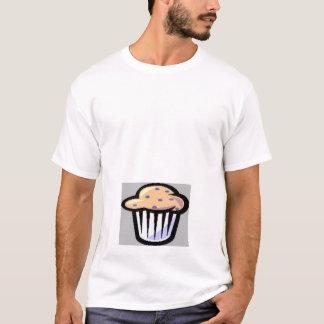 Camiseta bolo no gráfico do forno