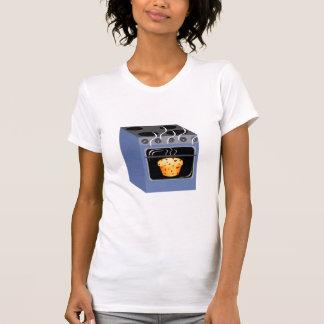 Camiseta Bolo no t-shirt do forno