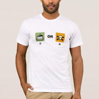 Camiseta bolo ou morte