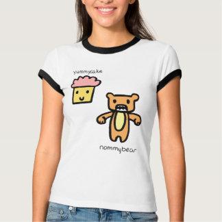 Camiseta Bolo saboroso & urso de Nommy