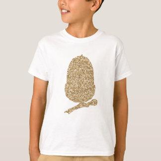 Camiseta Bolota do brilho do ouro