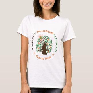 Camiseta Bolsa de estudo do humanista do logotipo de San