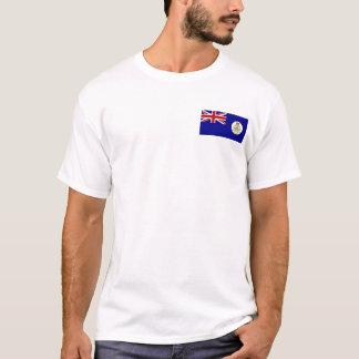 Camiseta Bolso colonial T da bandeira de Bahamas