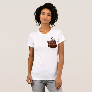 Camiseta Bolso da xadrez do duende da farsa