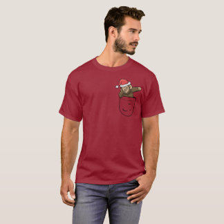 Camiseta Bolso do falso do papai noel de Bigfoot Squatch do