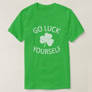 Camiseta Bom Dia de São Patrício engraçado da sorte você