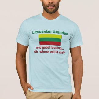 Camiseta Bom vovô do Lithuanian de Lkg