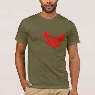 Camiseta Bomba de amor, coração da granada