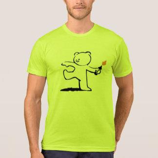 Camiseta Bombardeiro do ursinho de Banksy