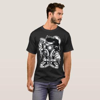 Camiseta Bombardeiro Vandalizing mascarado