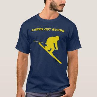 Camiseta Bombas dos joelhos não