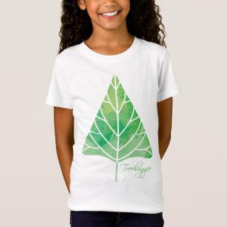 Camiseta Boneca das meninas de Treehugger (cabida)
