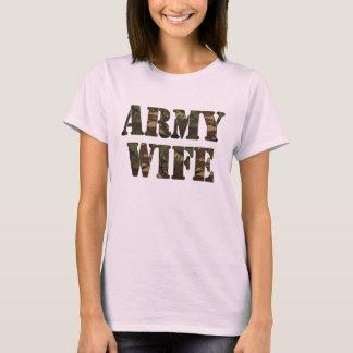 Camiseta Boneca das senhoras da esposa do exército