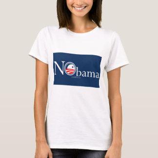Camiseta Boneca das senhoras de NObama (cabida)