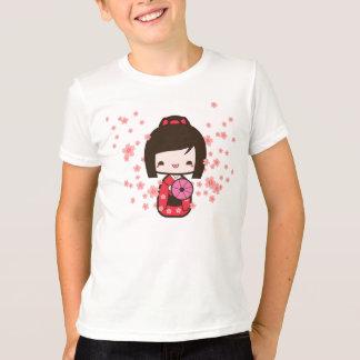 Camiseta Boneca de Kokeshi