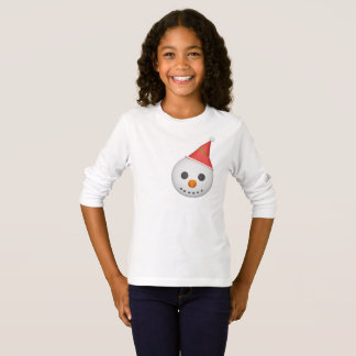 Camiseta Boneco de neve