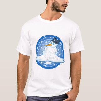 Camiseta Boneco de neve de derretimento
