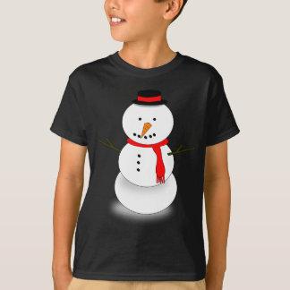 Camiseta Boneco de neve do Feliz Natal