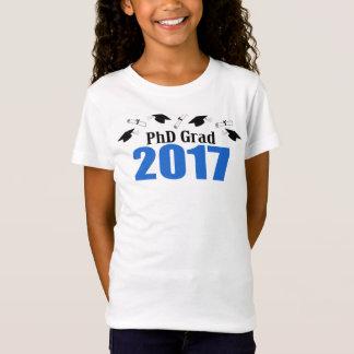 Camiseta Bonés e diplomas do formando 2017 do PhD (azuis)