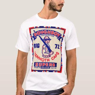 Camiseta Bonés retros do Mammoth do Doughboy do kitsch do