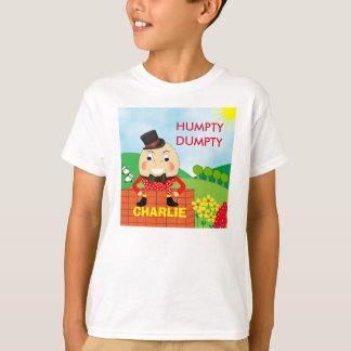 Camiseta Bonito alegre de Humpty Dumpty do divertimento