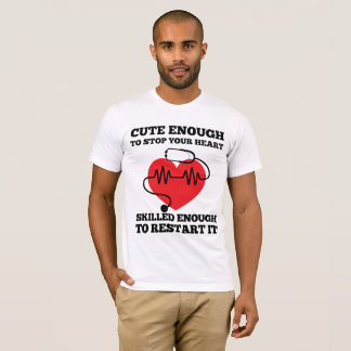 Camiseta Bonito bastante para ligar seu t-shirt do coração