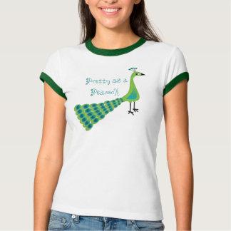 Camiseta Bonito como um pavão