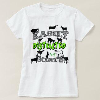 Camiseta Bonito do HUMOR | da CABRA confundido facilmente