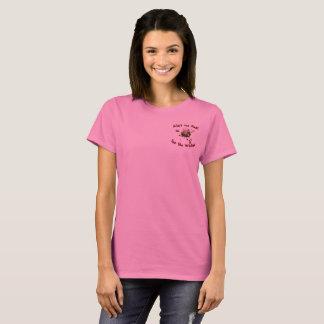 Camiseta Bonito no rosa