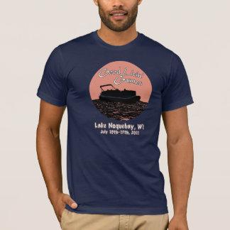 Camiseta Bons jogos de Livin azuis