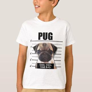 Camiseta bons pugs idos maus